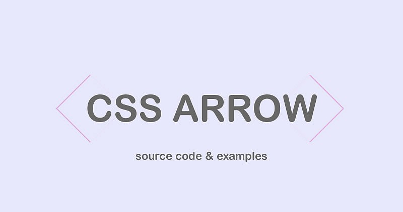 Pure CSS Arrows | wdrfree ▷